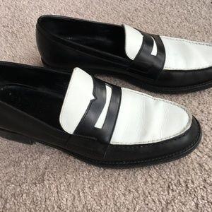 027842f0dd6d5 Saint Laurent Shoes | Ysl Twotone Penny Loafers | Poshmark